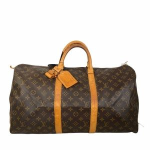 🌻💯 Louis Vuitton Travel bag Keepall 50 used